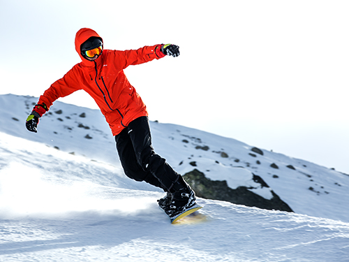 children's snowboard lessons in megeve