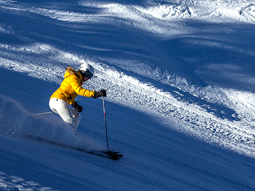 ski lessons in megeve, english russian speaking ski instructor